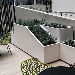 custom commercial planters-Planters Unlimited-Marek