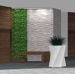 custom spiral shape planters-Planters Unlimited Helix white