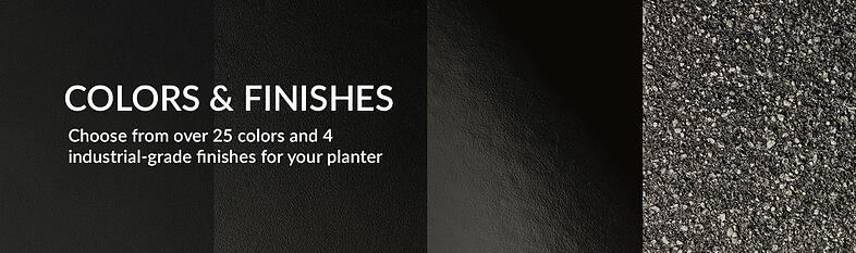 colors-finishes-planters unlimited